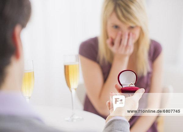 Verlobung  Fest  festlich  Restaurant
