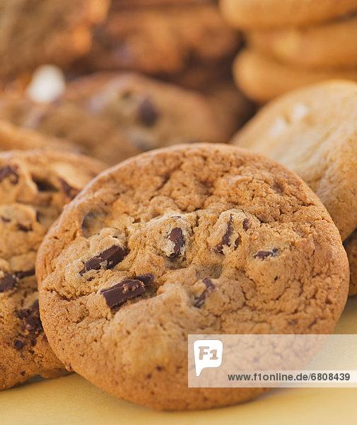 Schokolade  schießen  Studioaufnahme  Keks