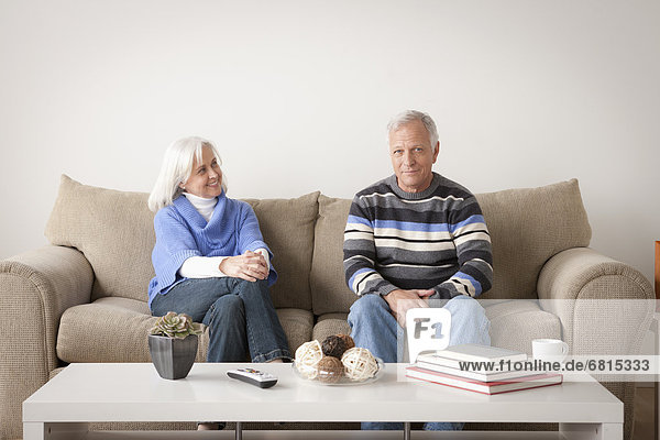 Portrait of smiling älteres Paar