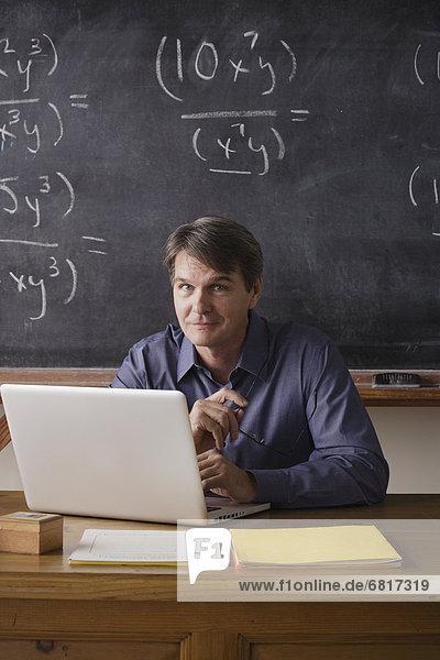 Portrait  Lehrer  Mathematik