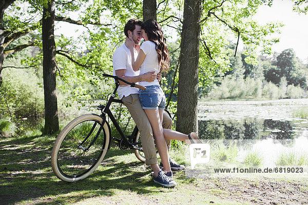nahe  küssen