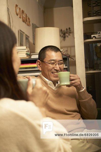 trinken Couch Kaffee