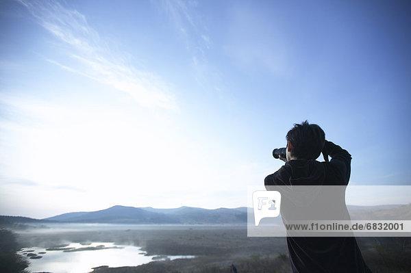 Landschaft  Dunst  fangen  Fotograf