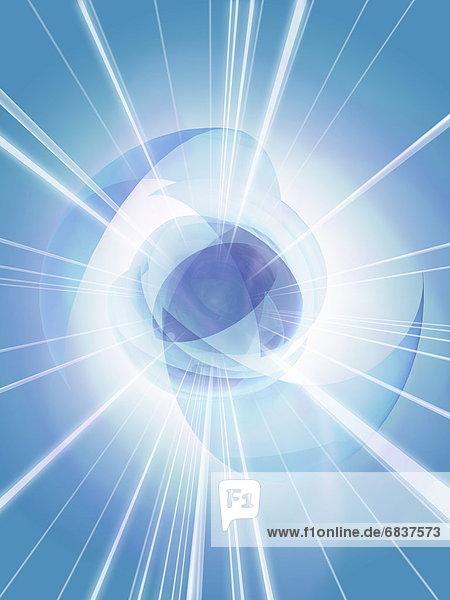 blau  computer icon  blauer Hintergrund