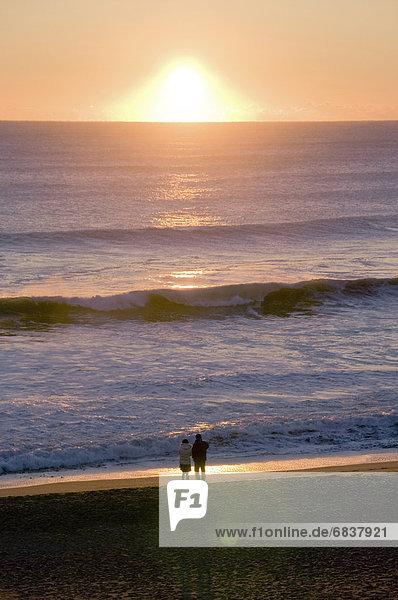 Strand  Morgendämmerung