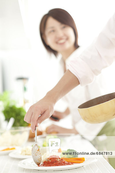 Zusammenhalt  kochen