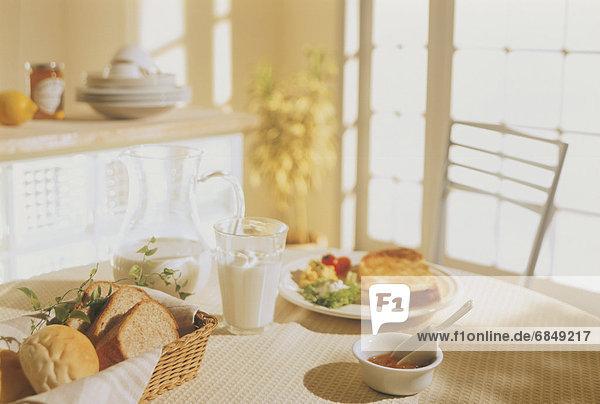 Tisch  Frühstück