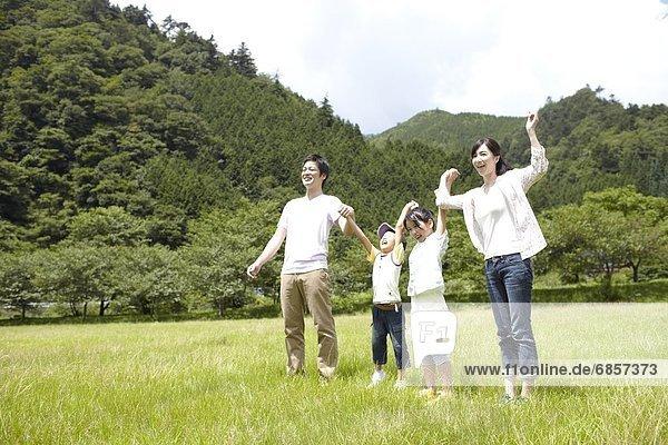 gehen  halten  japanisch