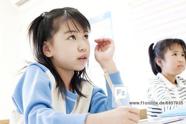 lernen  belegt  Schule  Mädchen