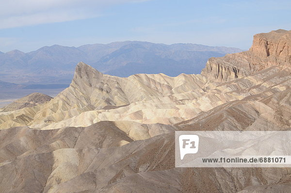 Vereinigte Staaten von Amerika USA Nordamerika Death Valley Nationalpark Zabriskie Point Kalifornien