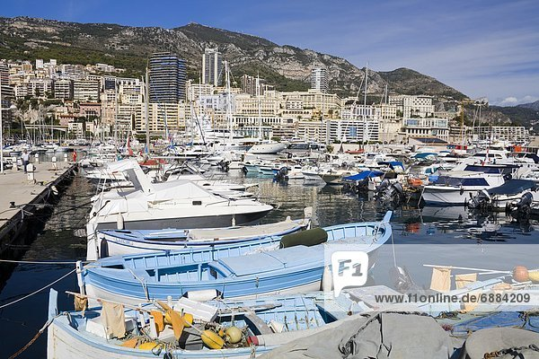 Port de Monaco  Monte Carlo City  Monaco  Mediterranean  Europe