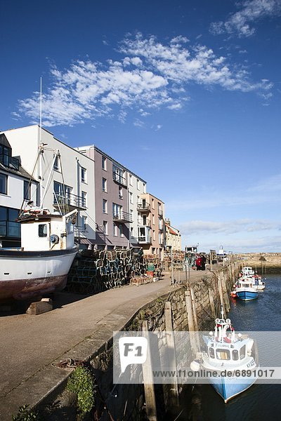 St. Andrews Harbour  St. Andrews  Fife  Scotland  United Kingdom  Europe