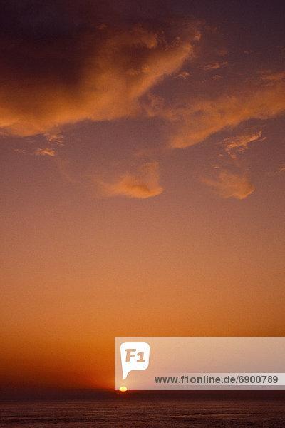 Sonnenuntergang  Ehrfurcht  Insel  Braunschweig  Kanada  neu