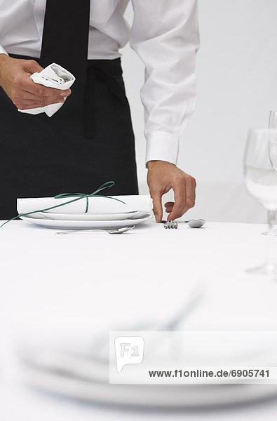 Kellner Tisch