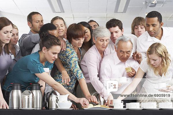 Mensch  Menschen  Erfrischung  Tisch  Business