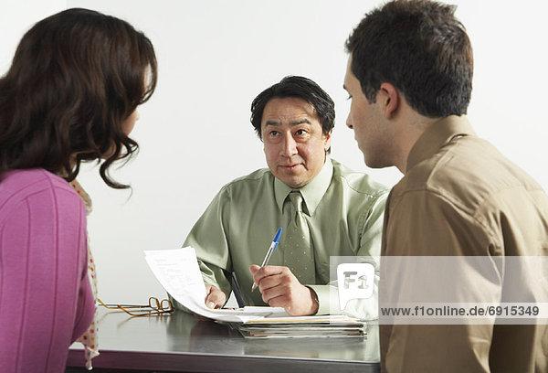 Geschäftsleute in Office