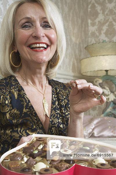 Frau  Schokolade