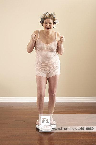 Frau  Gewicht  Einsamkeit