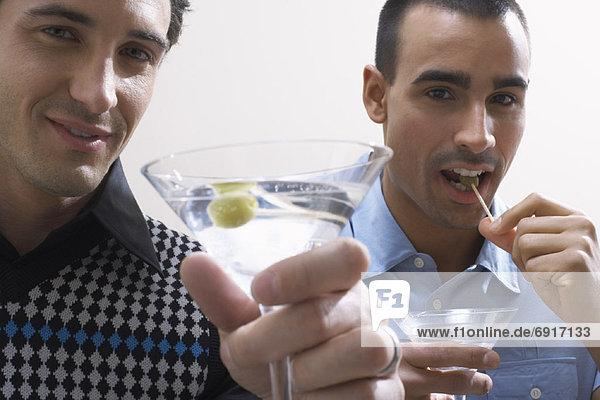 Mann  trinken