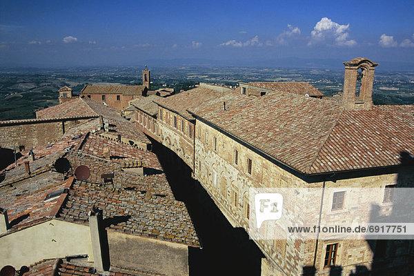 Italien Montepulciano Toskana