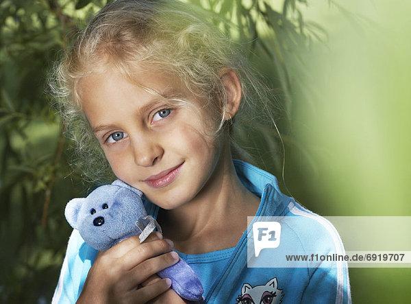 Mädchen Außenaufnahme portrait