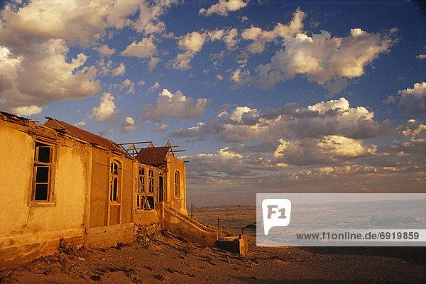 Deserted Building  Bogenfels  Namibia