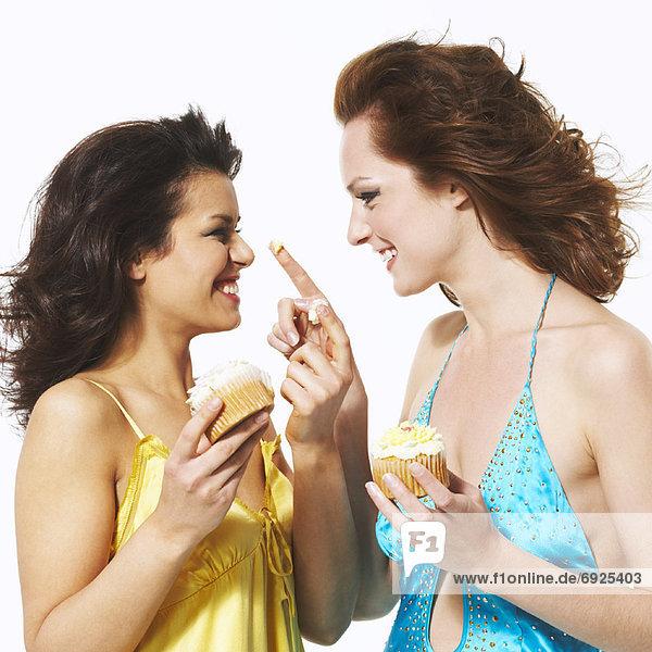Frau  Lebensmittel  spielen