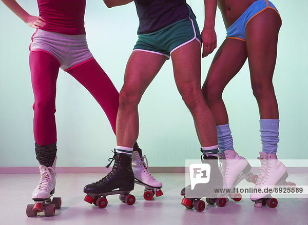 People Roller-Skating
