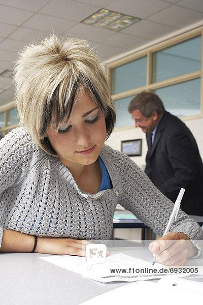 Lehrer  Klassenzimmer  Student