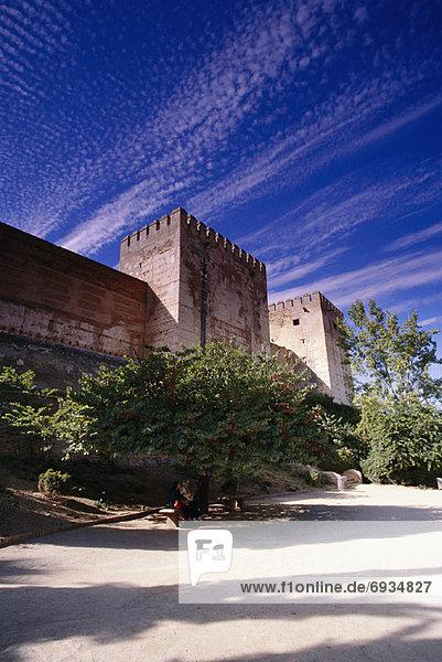 Grenada  Hauptstadt  Alhambra  Spanien