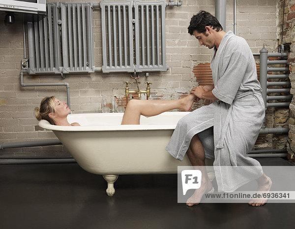 Mann  Massage  Frau