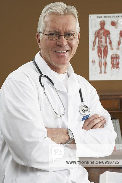 Portrait des Arztes