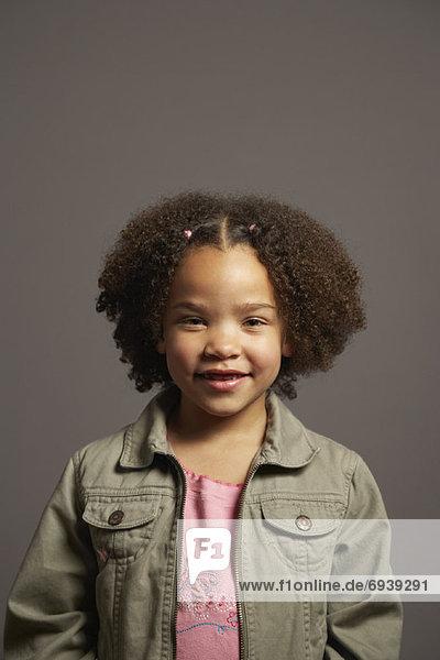 Porträt des Mädchens
