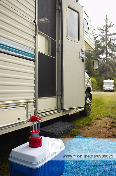 Verkehr Freizeit Campingplatz