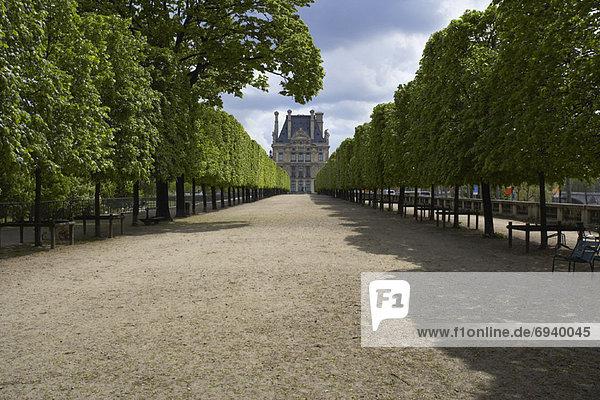 Paris  Hauptstadt  Frankreich  Weg