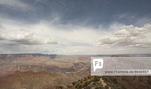 Vereinigte Staaten von Amerika  USA  Mensch  Menschen  Ehrfurcht  wandern  Arizona  Schlucht  South Rim