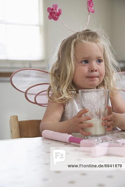 trinken  Kostüm - Faschingskostüm  Mädchen  Milch trinken ,Kostüm - Faschingskostüm ,Mädchen ,Milch