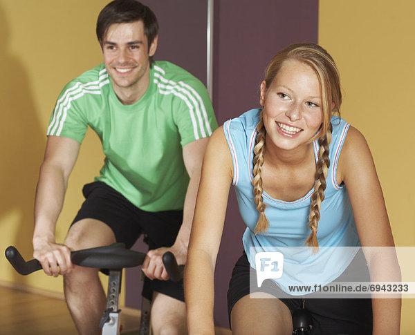 benutzen  Mensch  Menschen  üben  Fahrrad  Rad
