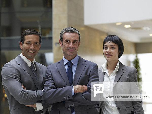Portrait von Geschäftsleuten