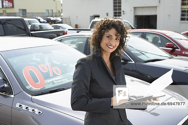 Car Saleswoman