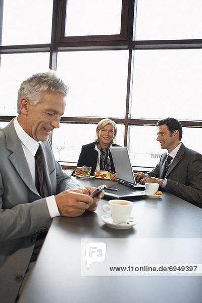 Mensch  Menschen  Business  Mittagessen
