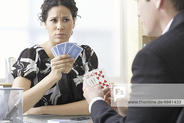 Mensch  Menschen  Poker  Business  spielen