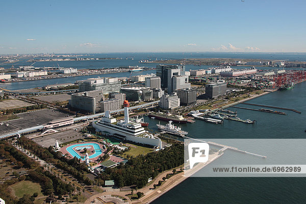 Tokyo  Hauptstadt  Honshu  Japan