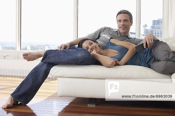 Couch , Eigentumswohnung