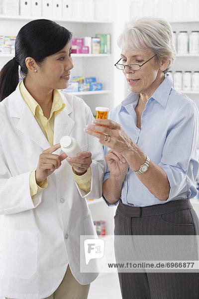 sprechen  Pharmazie  Kunde