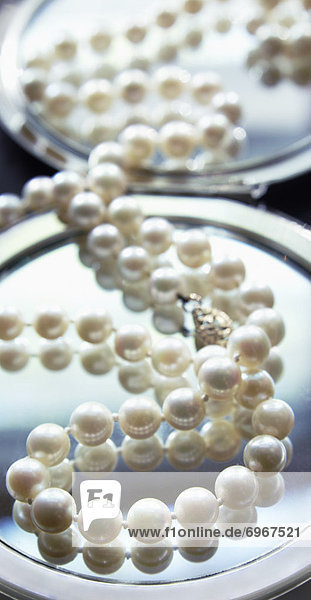 Faden  kompakt  Perle  Spiegel  Saite