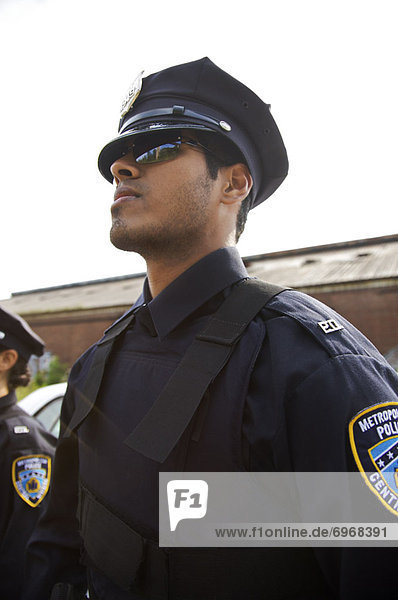 Portrait of Police Officers