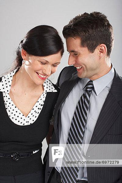 Portrait von paar