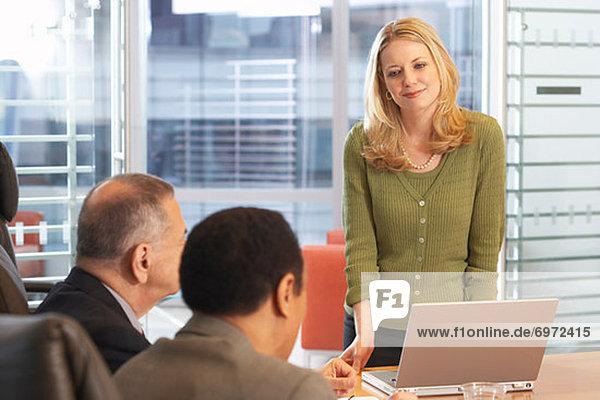 Business Meeting in Boardroom