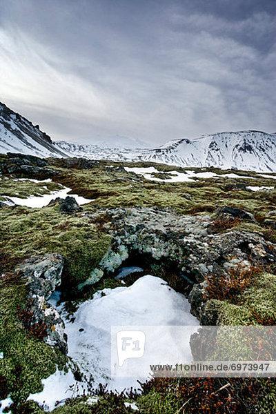 Snaefellsjokull  Arnarstapi  Reykjavik  Iceland